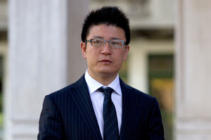 Businessman William Yan is on trial in the High Court at Auckland. Photo / Brett Phibbs