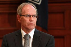 Auckland Mayor Len Brown. Photo / Doug Sherring