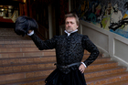 Michael Hurst, actor, who stars in the upcoming theatre production Bard Day's Night. Photo / NZ Herald