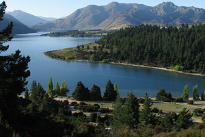 The Clutha River runs out of Lake Wanaka. Photo / Supplied