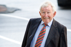 Sir Ron Brierley was up for re-election at today's GPG annual meeting. Photo / Greg Bowker