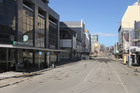 The Christchurch CBD has been shut off from the public to allow damage checks after the latest shake to strike the city. File photo / NZ Herald
