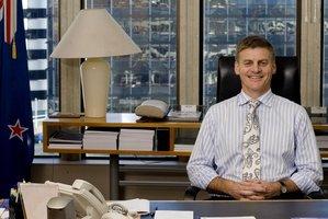 Minister of Finance, Bill English. File photo / David White.