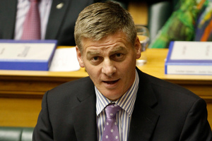 Bill English. Photo / Mark Mitchell
