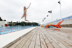 Children aged 16 and under will have free use of swimming pools. Photo / Chris Gorman