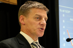Finance Minister Bill English says the Budget was about putting pressure on right across the system. Photo / Mark Mitchell