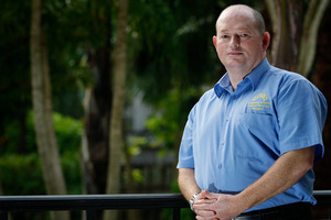 Darryl Evans, Budgeting and Family Support Services Mangere. Photo / Sarah Ivey
