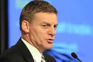 Finance Minister Bill English. Photo / Ross Setford