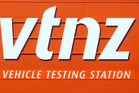 A vehicle was stolen at a Vehicle Testing Station this week while its new buyer was awaiting an inspection. Photo / NZPA