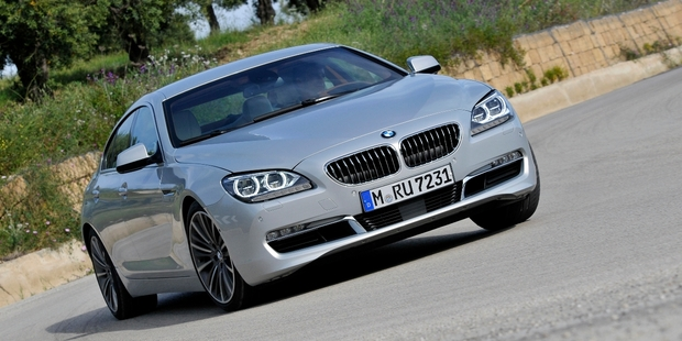 The 6 Series Gran Coupe is all class and boasts a speedboat-inspired interior. Photo / Supplied