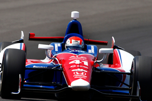 Wade Cunningham will start from 26th on the grid at the Indianapolis 500.  Photo / Supplied