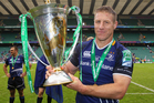 Brad Thorn is the first player to win a World Cup, Super Rugby title and a European Cup. Photo / Getty Images.