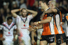 The Warriors are still seething after their loss to the Tigers. Photo / Getty Images.