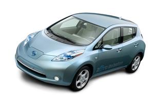 The award-winning full-electric Nissan LEAF