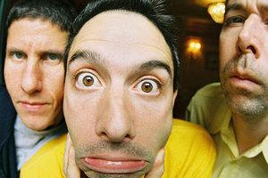 Adam Horovitz, Mike Diamond and Adam Yauch.  Photo / Supplied