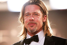 Brad Pitt unveils Killing Them Softly in Cannes. Photo / AP