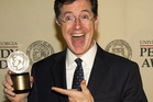 Stephen Colbert has been included on a list of 100 of the world's sexiest women. Photo / AP