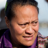 Latu Paasi mourns for her husband and son that are missing. Photo / Sarah Ivey