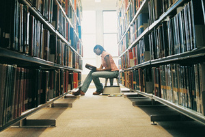 A love of libraries has inspired a new book about the importance of the public place. Photo / Thinkstock
