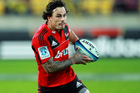 Crusaders wing Zac Guildford has been called in to the All Blacks training squad to replace the injured Richard Kahui. Photo / Getty images.