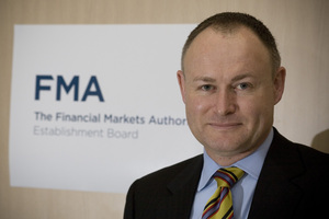 Financial Markets Authority chief executive Sean Hughes. Photo / NZH