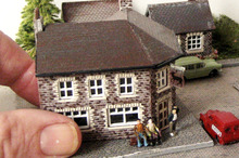 A hand-crafted miniature village. Photo / Supplied