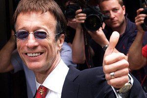 Robin Gibb has died after a long cancer battle.  Photo / AP
