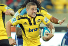 It has still been a meteoric rise this season for TJ Perenara  who started the season as third-choice halfback at the Hurricanes. Photo / Getty Images