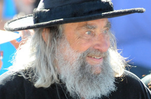 The Christchurch Wizard will stage a protest against the demolition of Christchurch Cathedral at midday today. Photo / NZPA