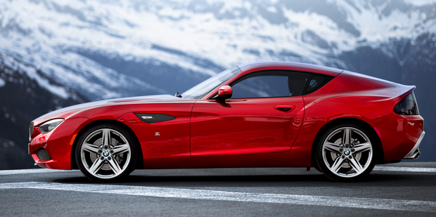 BMW and Zagato's impressive joint effort concept coupe. Photo / Supplied