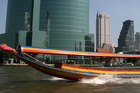 A taxi boat plies the Chao Phraya River. Photo / Thinkstock