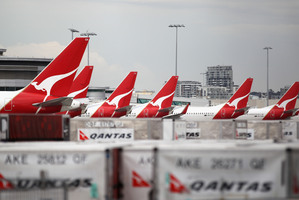 Qantas said it will split its businesses into domestic and international units Photo / Getty Images