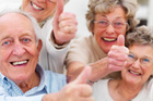 Positive people live longer, research suggests.