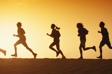 Running with others can provide extra motivation.