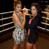 Jaime Ridge and The GC star Rosanna Arkel will be fighting each other in the celebrity boxing event, The Godfather of all Fight Nights July 5. Photo / Brett Phibbs