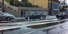 Hail storm havoc on Wellington roads