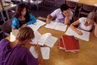 Students need to be focused, mature and disciplined to make open-plan classrooms work. Photo / Thinkstock