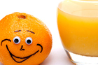 Folate, which is found in oranges, can help normalise moods to help you feel cheerier. Photo / Thinkstock