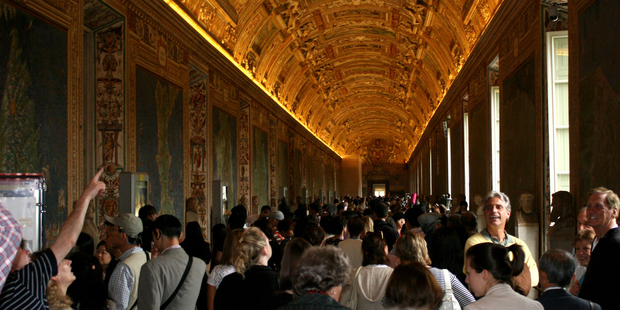 It's best to visit famous sights, such as the Vatican, in the Northern Hemisphere spring and autumn. Photo / Jim Eagles