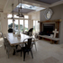 Entertaining and dining area. Photo / Brett Phibbs.