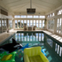 The indoor pool with theatre. Photo / Brett Phibbs.