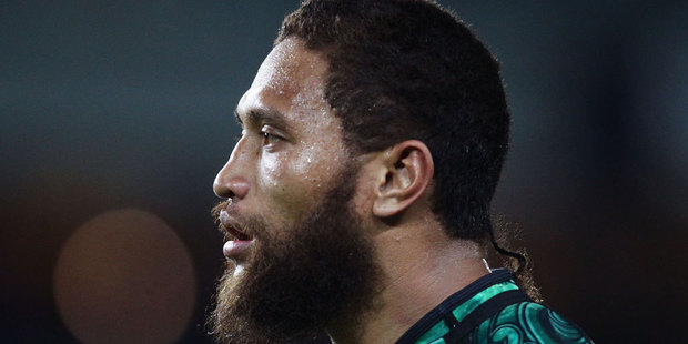 Manu Vatuvei was named in an unchanged Warriors side to meet the Storm on Sunday. Photo / Getty Images.