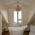 Master bedroom bathroom. Photo / Brett Phibbs.