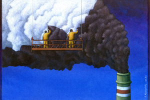 Some art from Pawel Kuczynski. Photo / Supplied