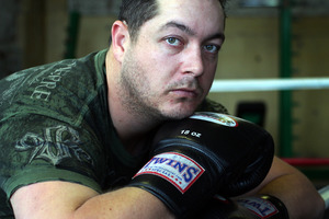 Jesse Ryder will step into the ring as part of the KFC Godfather of all Fight Nights. Photo / Doug Sherring