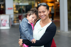 Catherine Joseph and daughter Rosina. Photo / Doug Sherring