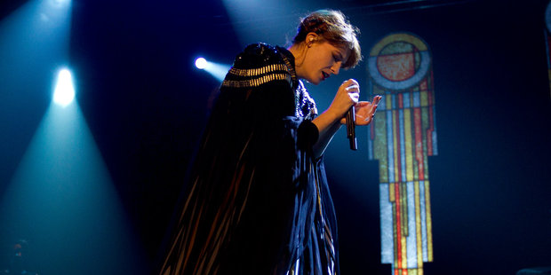 Florence and the Machine perform at Vector Arena in Auckland. Photo / Sarah Ivey