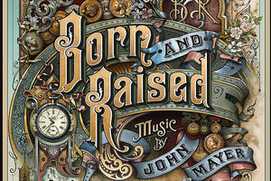 Album cover for 'Born and Raised'. Photo / Supplied