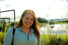 Meg Theriault, aged 21, was with other US students heading for the Tongariro Crossing when their van crashed. Photo / Supplied
