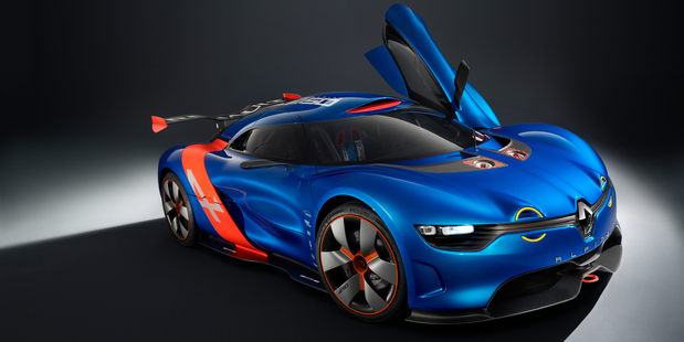 The Renault A110-50 concept car. Photo / Supplied